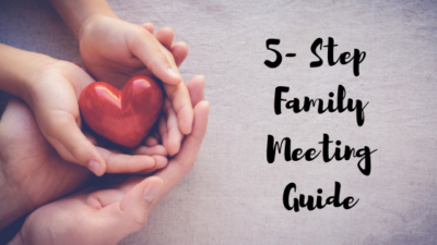 Family Meeting 5-Step Guide