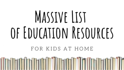 COVID-19 Resources for Kids at Home